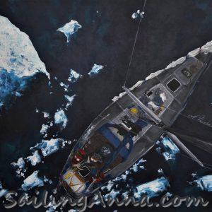 S/Y Stary - obraz Ania Wierzbicka